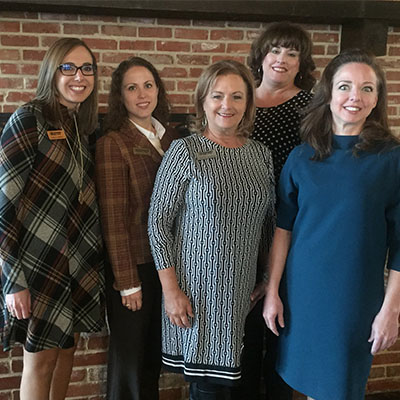 Community Bank women at Leading Waco Women summit Fall 2019
